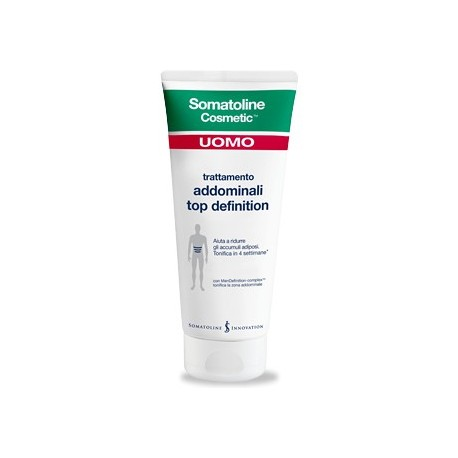 Somatoline Cosmetic Uomo Trattamento Addominali Top Definition - 400 ml